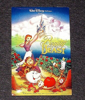 RARE LE Disney Pin✿ One Sheet Framed Movie Poster Beauty Beast Belle Potts Chip