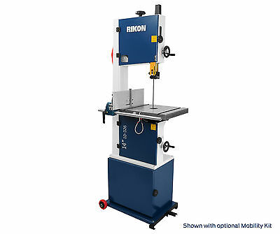 """Rikon 10-326 1-3/4hp 14"""" Deluxe Bandsaw w/ New Fence System (Best Bandsaw)"""