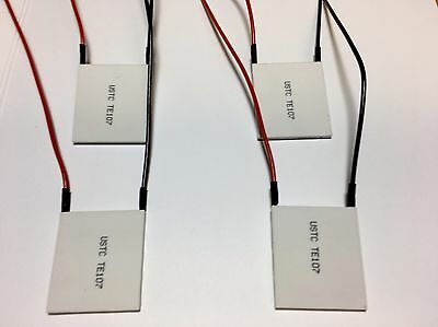 Thermoelectric Modules - HIGH Power Peltier Coolers - TE Kryotherm (lot of 4)