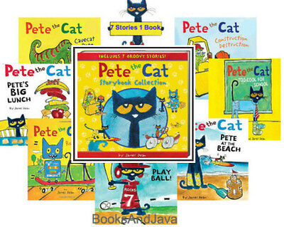 Pete the Cat Storybook Collection 7 Stories1 Book by James Dean (Hardcover)