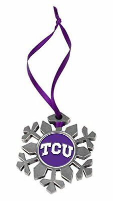TCU Horned Frogs Snowflake Ornament