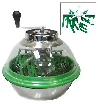 Hydroponic 16'' Stainless Bowl Leaf Trimmer Twisted Spin Cut Bud Hush Pro Grow