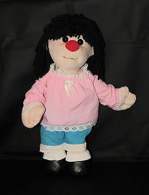 The Big Comfy Couch MOLLY PLUSH DOLL 2002 Hard to Find & Rare PINK Dress!