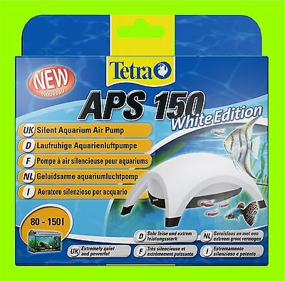 Tetra APS 150 POMPE À AIR AQUARIUM BLANC Edition A POUR 80-150l