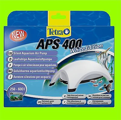 Tetra APS 400 Pompe à air Aquarium white Edition a pour 250-600l