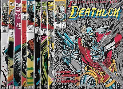 Deathlok Lot Of 9 - #1 #2 #3 #4 #5 #6 #7 #8 #9 (Nm-) The Demolisher
