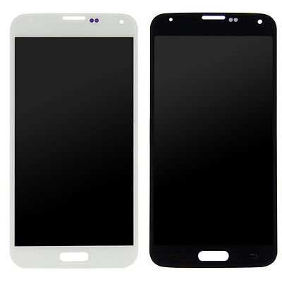 For Samsung S5 LCD Display Touch Screen Digitizer+frame Assembly Replacement OEM