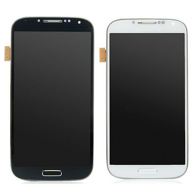 for SamSung Galaxy S4 i9500 LCD Display Touch Screen Digitizer Frame Assembly