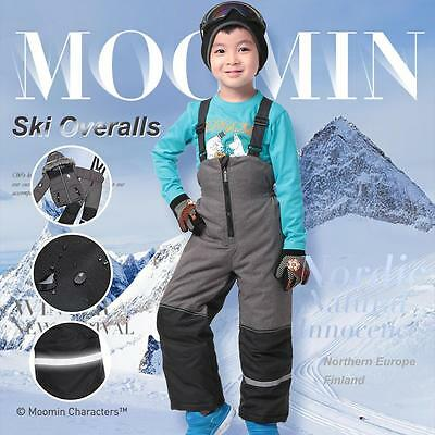 Moomin Kids Boys Girls ski pants overalls trousers snow suit winter wear overall