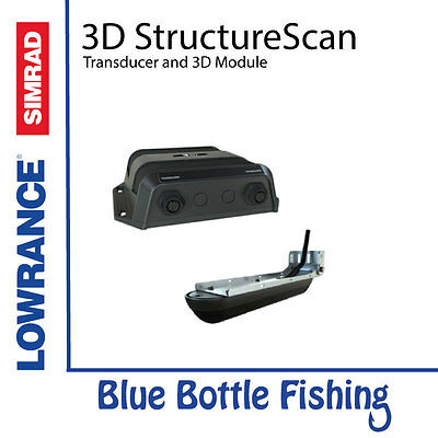 NEW 3D StructureScan Transducer and Module from Blue Bottle Fishing