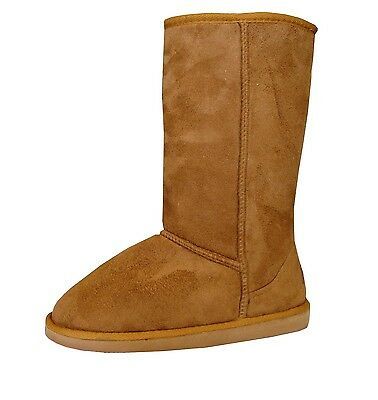 WHOLESALE LOT 12 pair Women Classic Snow Boot Shearling Faux Fur Shoe-430L Camel