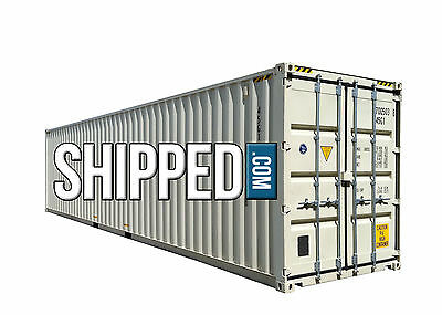 40ft NEW ONE TRIP HIGH CUBE SHIPPING CONTAINER FOR SALE in SAN FRANCISCO, CA
