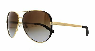 MICHAEL KORS Sunglasses MK5004 CHELSEA 1014T5 Gold Chocolate Brown 59MM