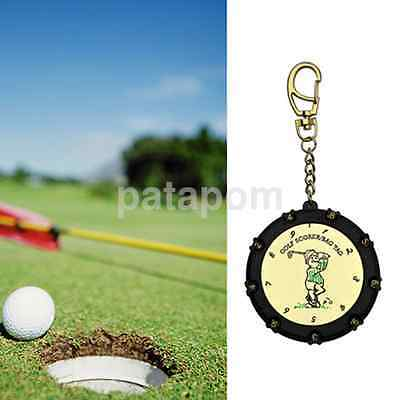 Golf Stroke Shot Putt 18 Hole Score Counter Keeper Scoring Tag Keychain AU
