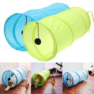 Pet Tunnel Cat Products Toys Funny Playing Kitten Cat Tunnel Multi Type Tunnels