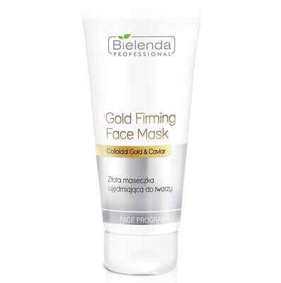 Bielenda Professional Gold Firming Face Mask with Colloidal Gold and Caviar 175