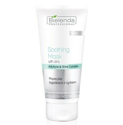 Bielenda Professional Soothing Anti Acne Face Mask with Zink and Shine Complex