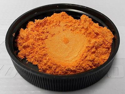 Fire Orange Flip Pearl Powder Pigment paint plasti dip nail art mica 25g