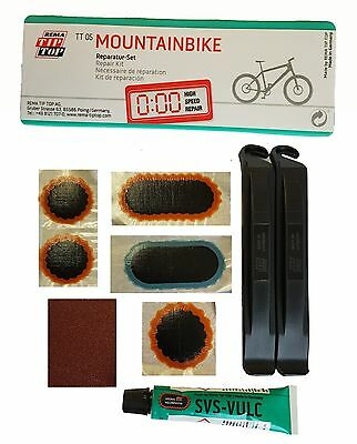 Rema Tip Top Tt 05 Mountain Bike Puncture Repair Kit Patches Bicycle Inner Tube