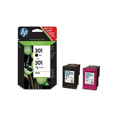 Hp 301 Black and Colour Twin pack - Hp 301 Twin Pk Original