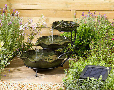 Smart Solar - Frog Lilypad Solar Cascade Water Feature