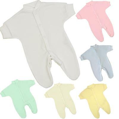 BABYPREM Baby Clothes Premature Tiny Baby Sleepsuit Weight Up To 1LB / 0.45kg 9""
