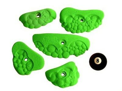 Atxarte Bubble Crimps Climbing Holds, Green