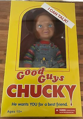"Child's Play 15"" Good Guys Talking Chucky Mega Scale Figure Mezco (2016 Version)"