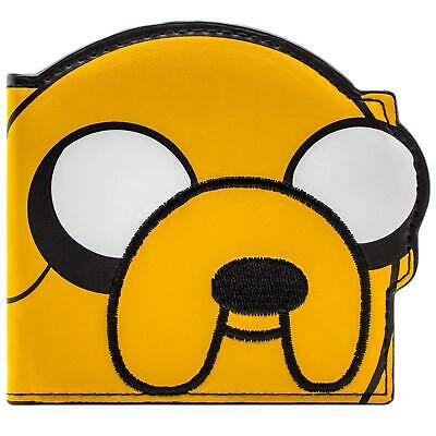 New Official Pendleton Ward Adventure Time Jake Yellow Id & Card Bi-Fold Wallet