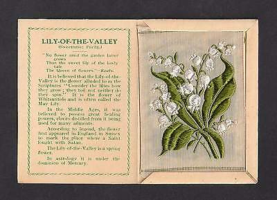 Kensitas Wix MEDIUM Silk Flower cover and silk LILY OF THE VALLEY folder B