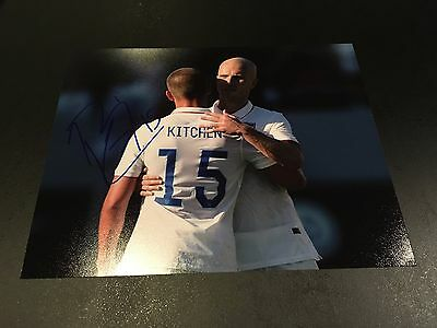 Perry Kitchen Signed USMNT USA Soccer 8x10 Photo Autographed
