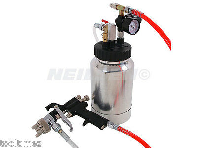 High pressure spray gun With regulator 2L Paint Tank Kit 4052