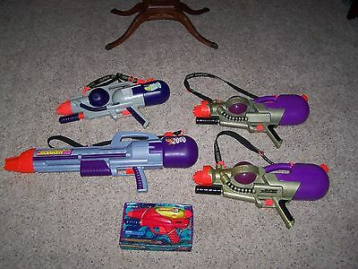 LARAMI SUPER SOAKER CPS 2000 POWERFUL Water Squirt Gun  and more