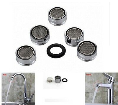 Tap Aerator for Kitchen & Bathroom in Chrome | Male Female 20mm 22mm 24mm 28mm