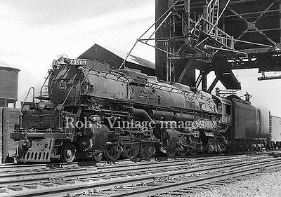 Union Pacific 4-6-6-4 Steam Locomotive 3968  Railroad  Photo print  UP train