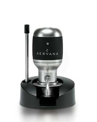Aervana, one-touch luxury wine aerator and dispenser. Award winning wine gift!
