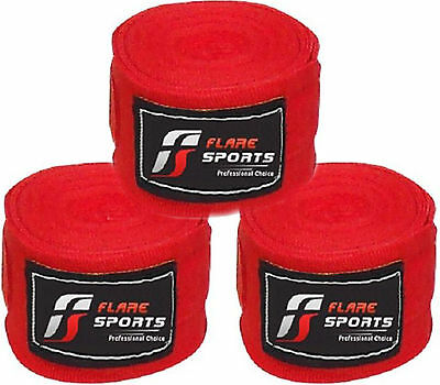 Flare Hand Wrist Wrap Mexican Stretch Boxing Tape Weight Lifting Strap 4.5m each