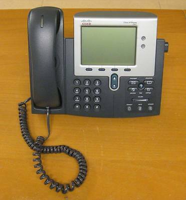 Cisco CP-7941G - 7941G VoIP IP Phone / Telephone with Stand