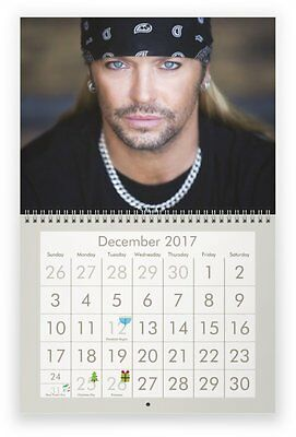 BRET MICHAELS 2017 Wall Calendar
