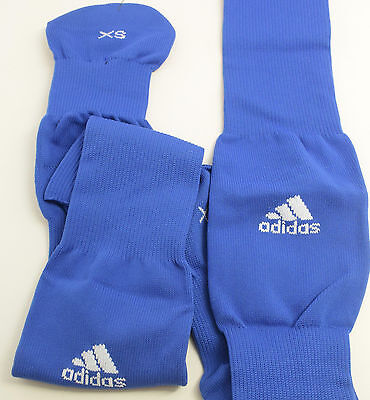 adidas Boy's Metro III Soccer Sock (Cobalt/White, X-Small) Shoe: 9-1 {OR6 Z28-N