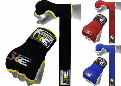 Sports Gel Mitts Hand Wraps Grappling Gloves Martial Arts Boxing UFC Bandages