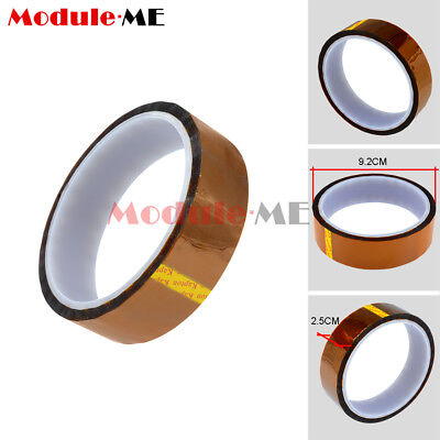 NEW Kapton Tape Sticky High Temperature Heat Resistant Polyimide 25mm x 30M UK