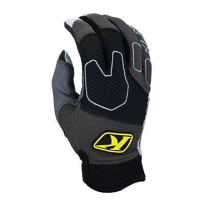 Klim Mojave Glove Black Blue Non-Current Moto-X Offroad 3168 Motorcycle