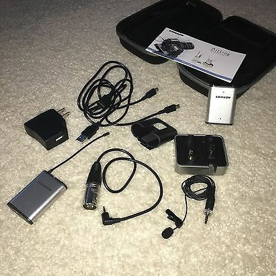 Samson Airline Micro Camera/Lavalier Wireless System Band 6 = 645.750 MHz