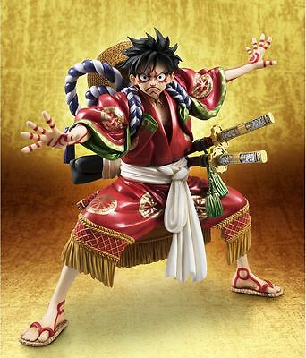 One Piece Monkey D. Luffy Excellent Model P.O.P KABUKI EDITION 1/8 Exclusive Fig