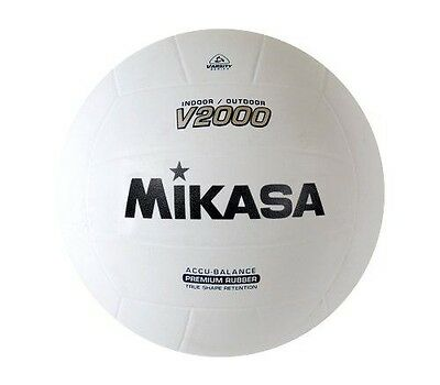 Mikasa Sports Mikasa V2000 Official Size Rubber Volleyball
