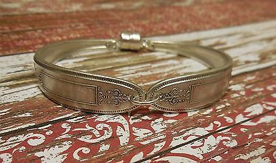 Grosvenor - 1921 Vintage Silver Plated Silverware/Flatware Spoon Bracelet