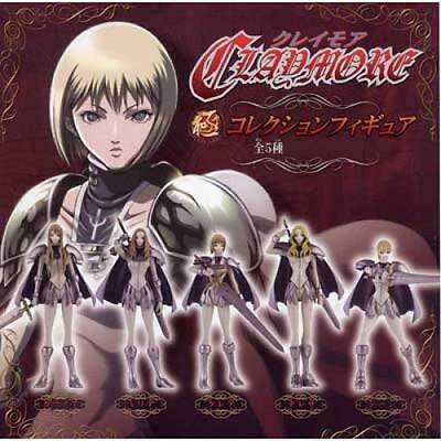 NEW Claymore Japan Anime Game Figure CLARE Collection 5 Full Set JP Limited Rare