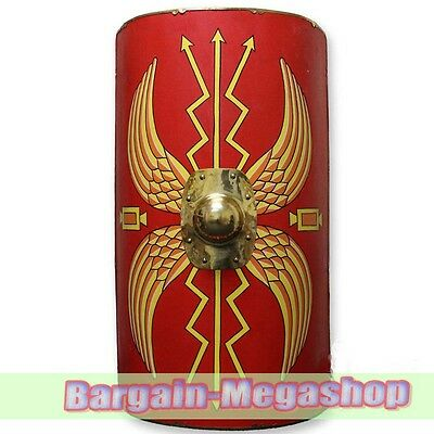 Full Size Roman Augustan Scutum Shield   42 Inches Tall Life Sized a1s1