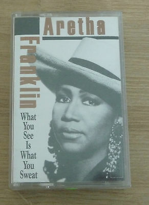 Cassette Tape K7 - TURKEY - Aretha Franklin  ‎– What You See Is What You Sweat